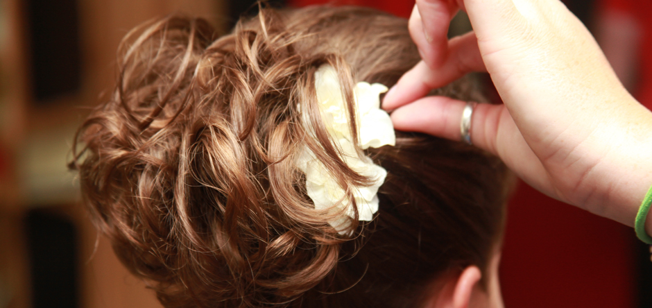 A full range of hair services, including the look for your special day